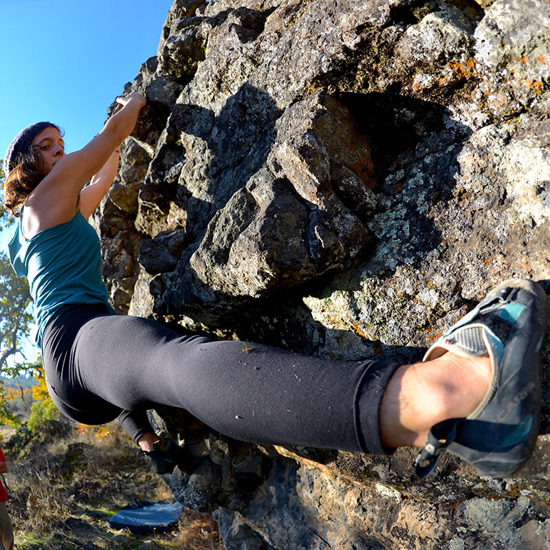 Bouldering at Table Rock
