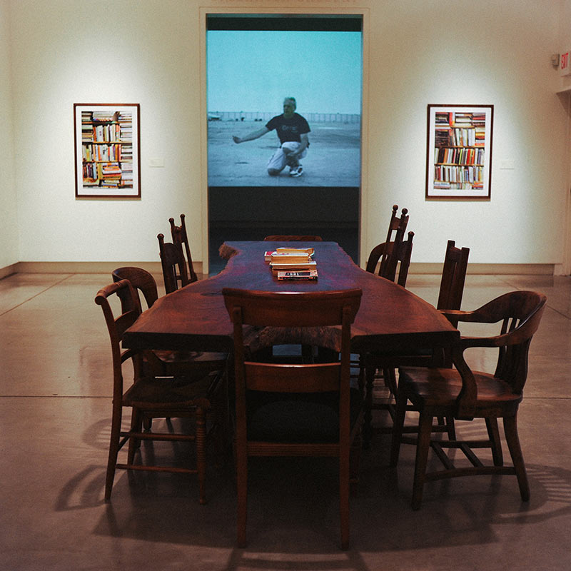 Southern Oregon University Video Art Installation at SMA