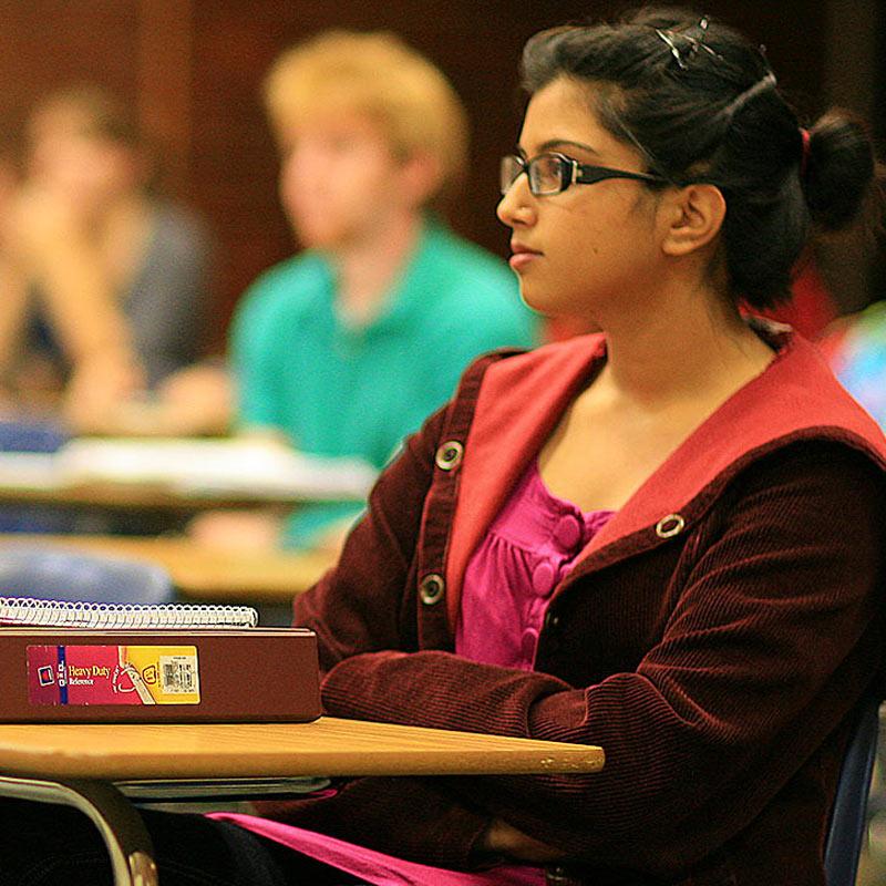 Psychology Classroom Degree BA BS Southern Oregon University Featured