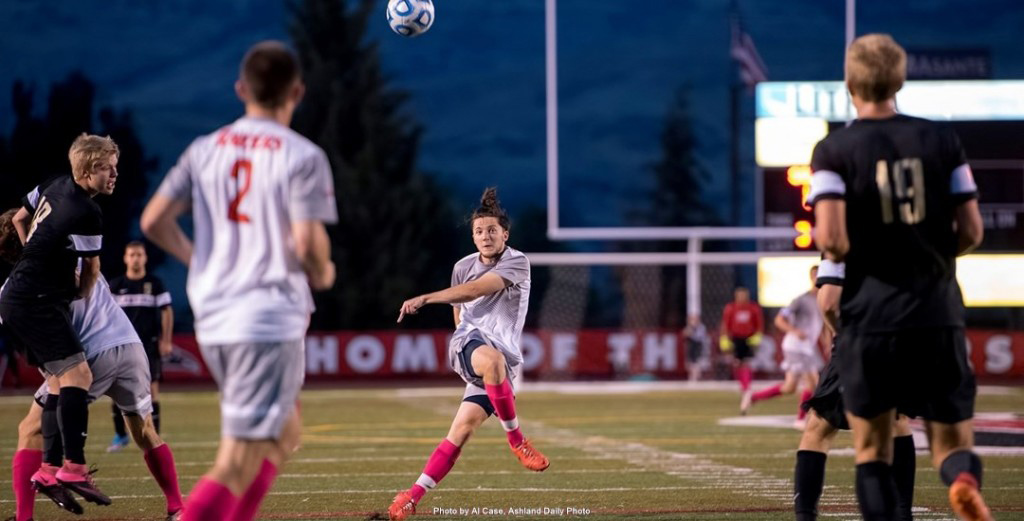 SOU Raiders Mens Soccer Home Game in Ashland Oregon