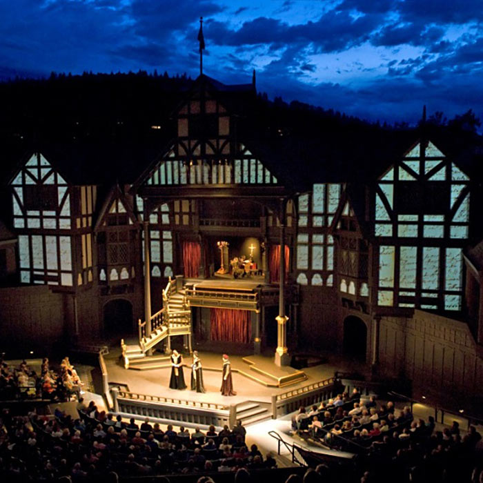 The Elizabethan Theatre at Oregon Shakespeare Festival