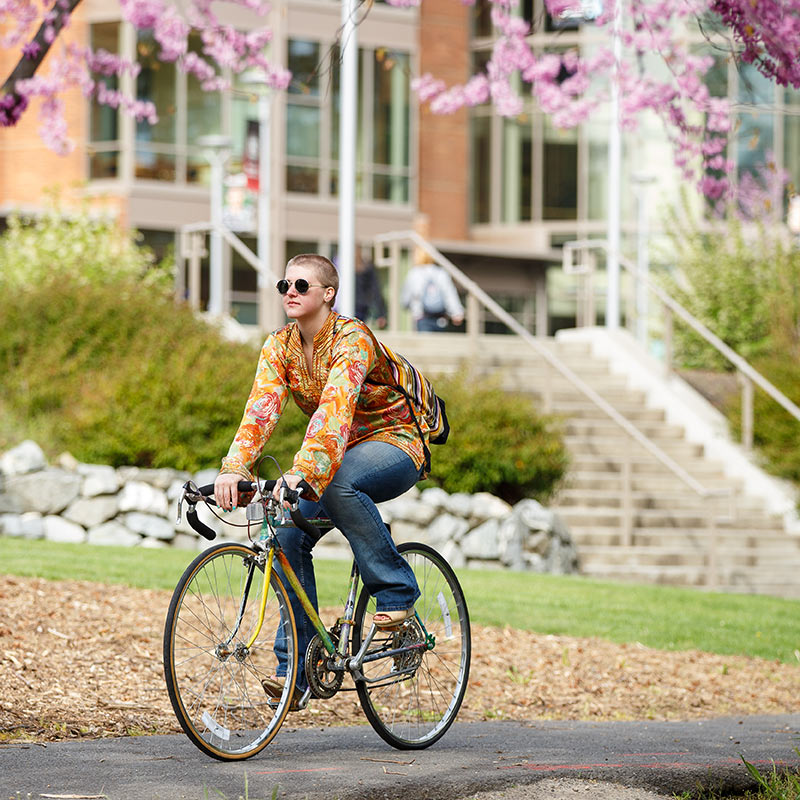 Silver-Certified Bike Friendly University